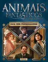Livro - Animais fantásticos e onde habitam - Guia dos personagens -