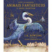 Livro - Animais fantásticos e onde habitam -