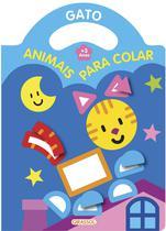 Livro - Animais para colar - gato -