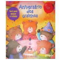 Livro - Aniversário dos ursinhos -