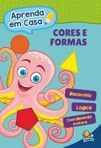 Livro - Aprenda em casa: cores e formas -