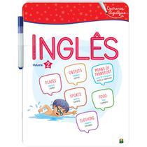 Livro - Aprenda em Casa - Escreva e Apague: Inglês Vol. 2 -