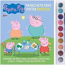 Livro Aquarela Infantil - Peppa Pig - Prancheta - Catavento -