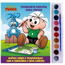 Livro Aquarela Infantil - Turma da Mônica - Cebolinha - Prancheta - Edição 2 - Catavento -