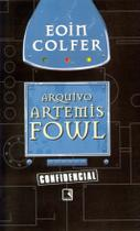 Livro - Arquivo Artemis Fowl -