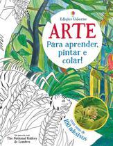 Livro - Arte para aprender, pintar e colar! -