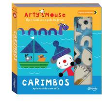 Livro - Arty Mouse carimbos -
