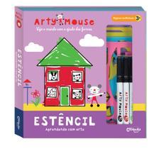 Livro - Arty Mouse estêncil -
