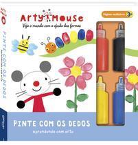 Livro - Arty Mouse - Pinte com os dedos -