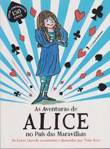 Livro - As aventuras de Alice no país das Maravilhas -