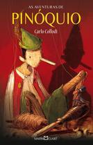 Livro - As aventuras de Pinóquio -