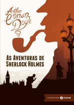Livro - As aventuras de Sherlock Holmes: edição bolso de luxo (Clássicos Zahar) -