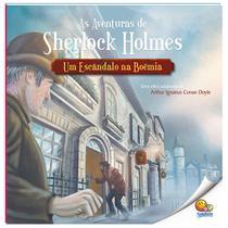 Livro - As aventuras de Sherlock Holmes: Um escândalo na boêmia -