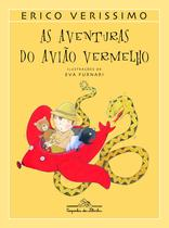 Livro - As aventuras do avião vermelho -