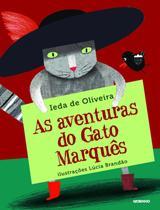 Livro - As aventuras do gato Marquês -