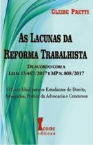 Livro - As Lacunas da Reforma Trabalhista - Pretti - Ícone -