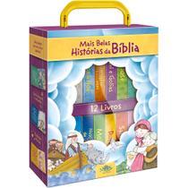 Livro - As Mais Belas Histórias da Bíblia: 12 Livros - Maletinha com Alça -