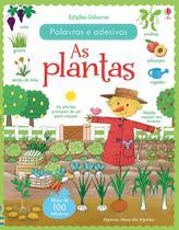 Livro - As plantas : Palavras e adesivos -