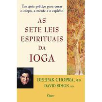 Livro - As sete leis espirituais da ioga -