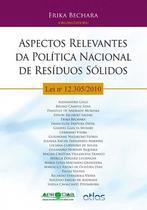 Livro - Aspectos relevantes da política nacional de resíduos sólidos - Lei Nº 12.305 -