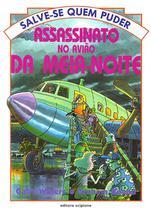 Livro - Assassinato no avião da meia-noite -