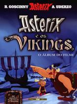 Livro - Asterix e os vikings (álbum do filme) -