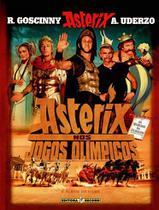 Livro - Asterix nos jogos olímpicos (álbum do filme) -