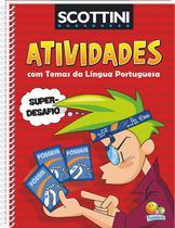 Livro - Atividades com temas da língua portuguesa -