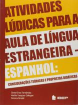Livro - Atividades lúdicas para aula de língua estrangeira -