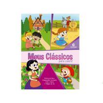 Livro Atividades Para colorir / ler Historias Meus Clássicos - Culturama