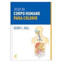 Livro - Atlas do corpo humano para colorir -