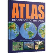 Livro ATLAS Geografico do Estudante 160PGS - Comprasjau