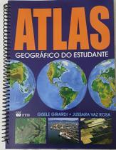 Livro ATLAS Geografico do Estudante 160PGS F.T.D. - Unidade -