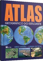 Livro ATLAS Geografico do Estudante 160PGS F.T.D. -