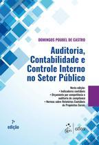 Livro - Auditoria, Contabilidade e Controle Interno no Setor Público -