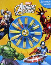 Livro - Avengers Assemble - Giz Para Colorir