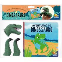Livro - Aventuras com Dedoches: Dinossauro -