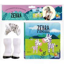 Livro - Aventuras com Dedoches: Zebra e amigos -