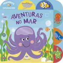 Livro - Aventuras no mar -