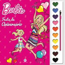Livro - Barbie - Festa de aniversário -