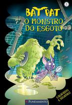 Livro - Bat Pat - O Monstro Do Esgoto -