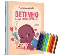 Livro - Betinho: o amor em forma de criança - Edição com brinde (caixa de mini lápis de cor) -