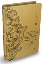 Livro - Bíblia da Mulher de Fé, NVI, Couro Soft, Dourado -