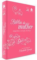 Livro - Bíblia da mulher segundo o coração de Deus - Pink/ Branca -