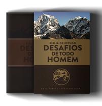 Livro - Bíblia de Estudo: Desafios de todo homem - 3ª edição - NVT -