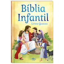 Livro - Bíblia infantil (Letras grandes) -