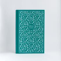 Livro - Bíblia NVI, Capa Dura, Tecido, Verde, Leitura Perfeita -