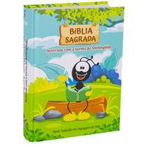 Livro - Bíblia Sagrada ilustrada com a turma do Smilingüido -