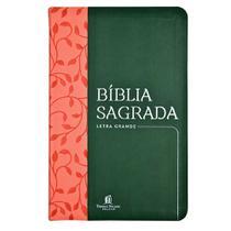 Livro - Bíblia Sagrada NVI, Couro Soft, Verde, Letra Grande, Leitura Perfeita -