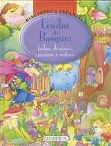 Livro - Biblioteca infantil - lendas do bosque -